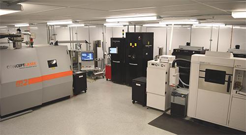 Arcam electron-beam melting machines
