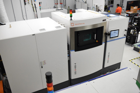 Sintavia additive manufacturing machines