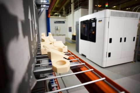 Stratasys F900 production 3D printer