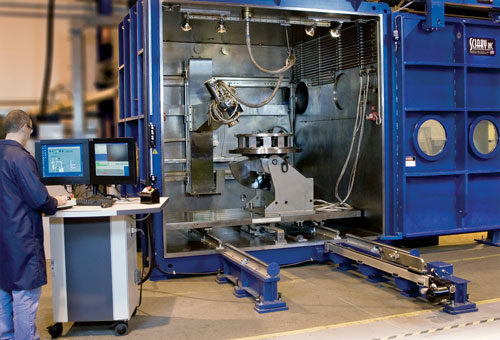 Sciaky dual purpose electronic beam additive manufacturing system