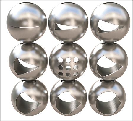 V-port ball valve
