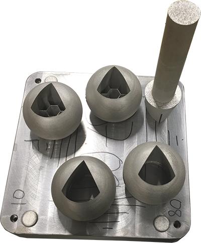 3D printing the valves