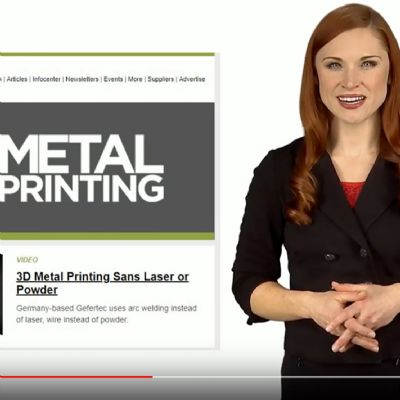 3D Metal Printing Rapid + TCT Video Showcase