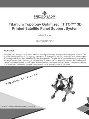 Titanium Topology Optimized