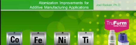 Atomization Improvements for Additive Manufacturing Applications webinar