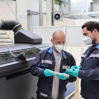 VW Partnership with Siemens, HP Yields Binder Jetting of Met...